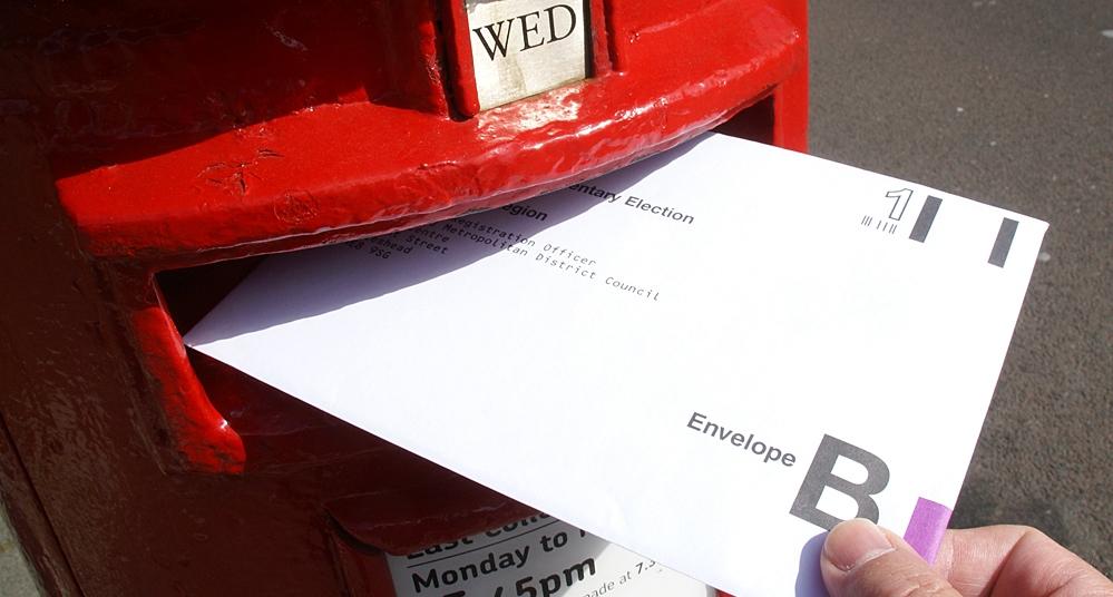 Image result for postal vote