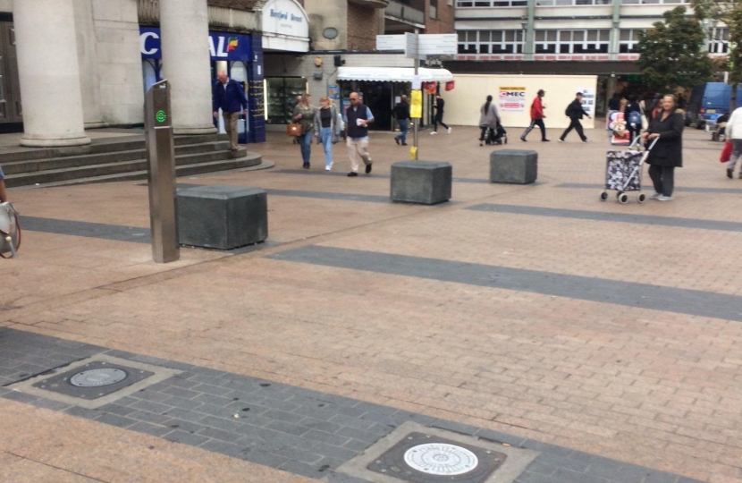Boards down at Broad Street