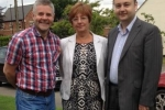 Councillors Peter Male, Julia Lepoidevin and Gary Ridley