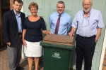 Councillors meet residents blighted by missed bin collections