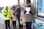 Councillor Jaswant Birdi with residents