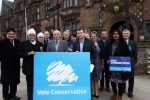 Conservatives campaigning ahead of this year's elections